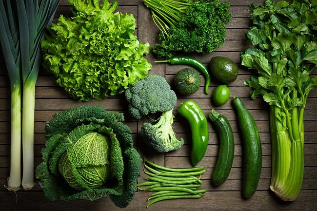 Một số loại rau nên sử dụng trong quá trình giảm cân