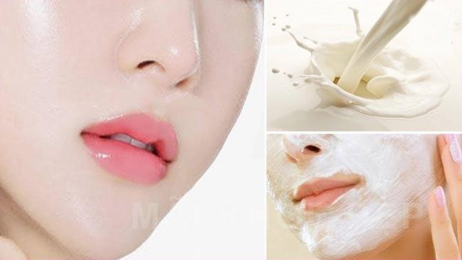 [Hỏi – Đáp] Da bị mụn có nên rửa mặt bằng sữa tươi không đường?