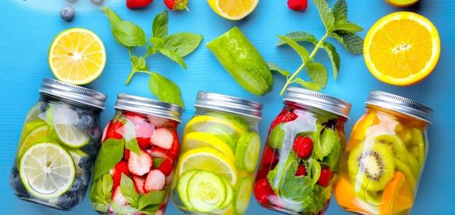 Nước detox giúp thanh lọc cơ thể hiệu quả