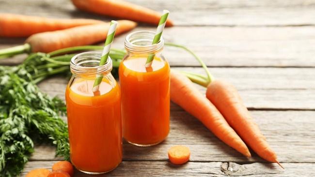 Nước ép cà rốt giảm mỡ bụng