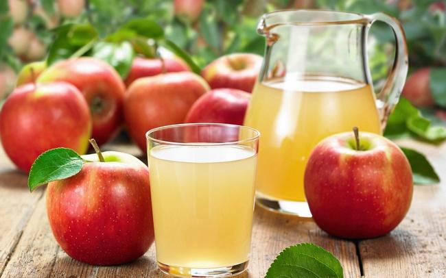 Nước ép táo giảm mỡ bụng