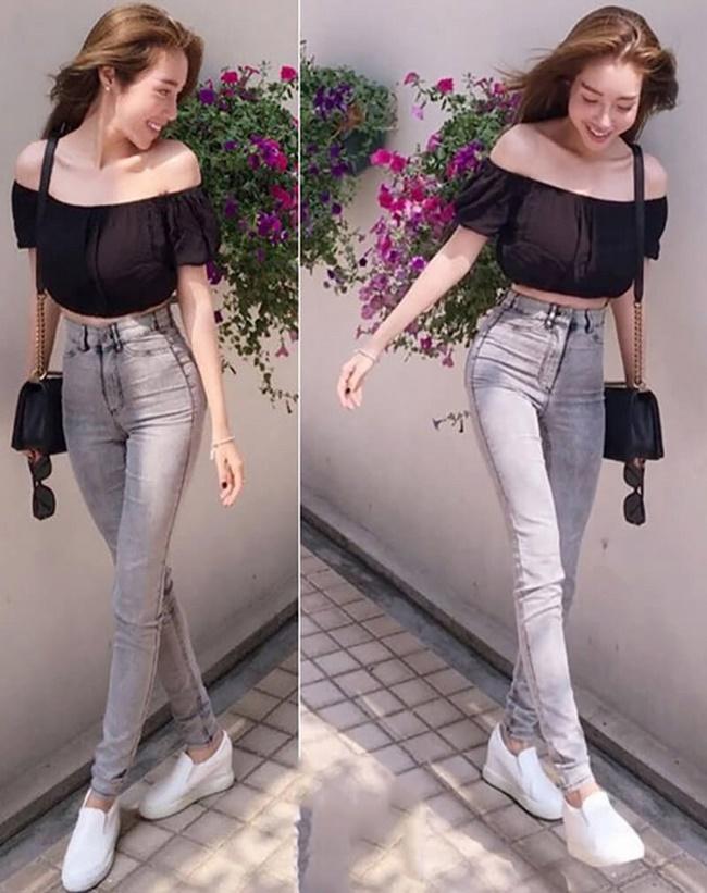 Người béo có nên mặc áo trễ vai phối với quần Jean không?