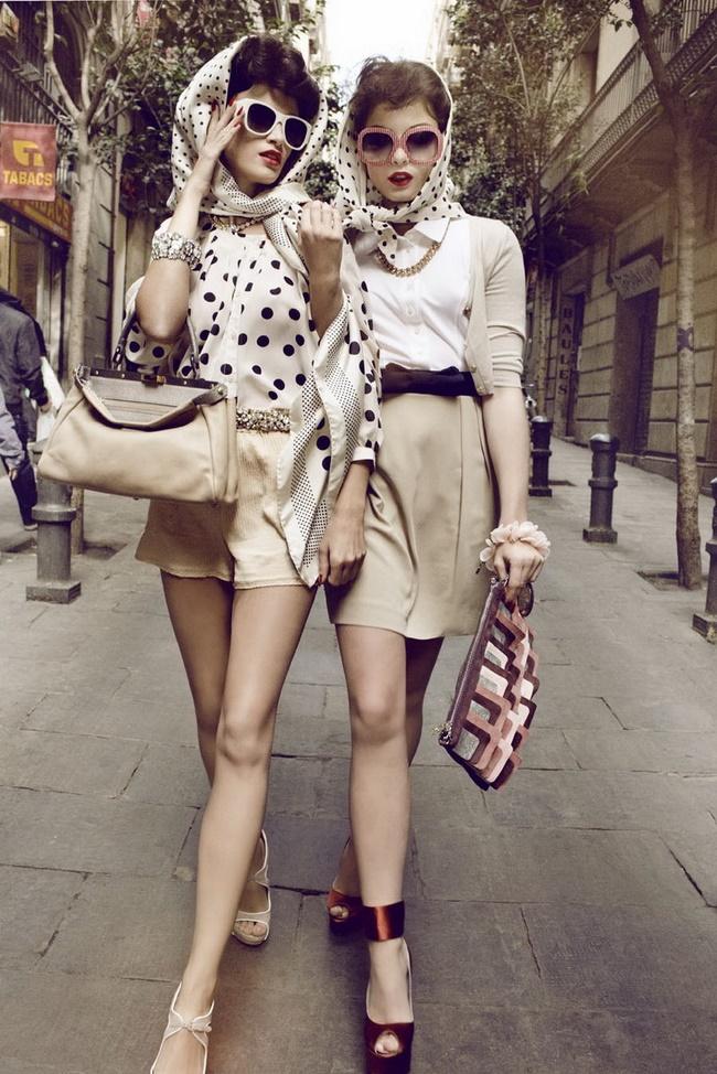 Phong cách thời trang Vintage là sự kết hợp giữa cổ điển và hiện đại