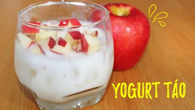 Sữa chua và táo hỗ trợ giảm cân nhanh hơn