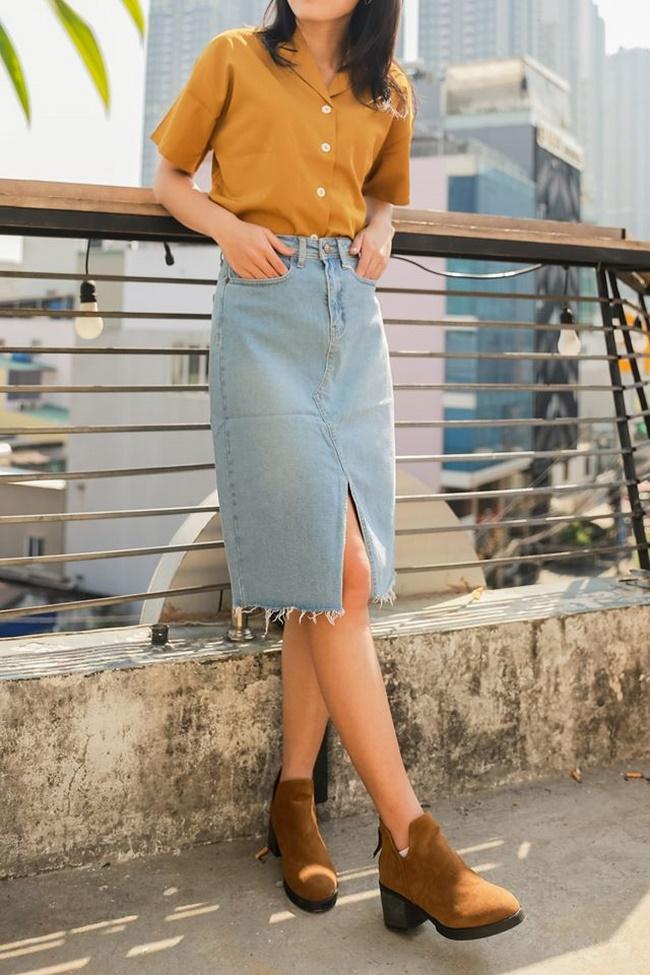Shop Lẩu xuất khẩu là shop bán chân váy bút chì tại t.p Hồ Chí Minh sở hữu chân váy bút chì chất từ từ thương hiệu nổi tiếng