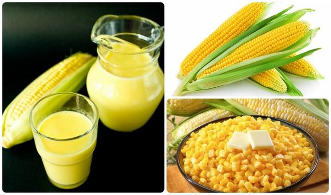 Sữa bắp ngô giảm cân