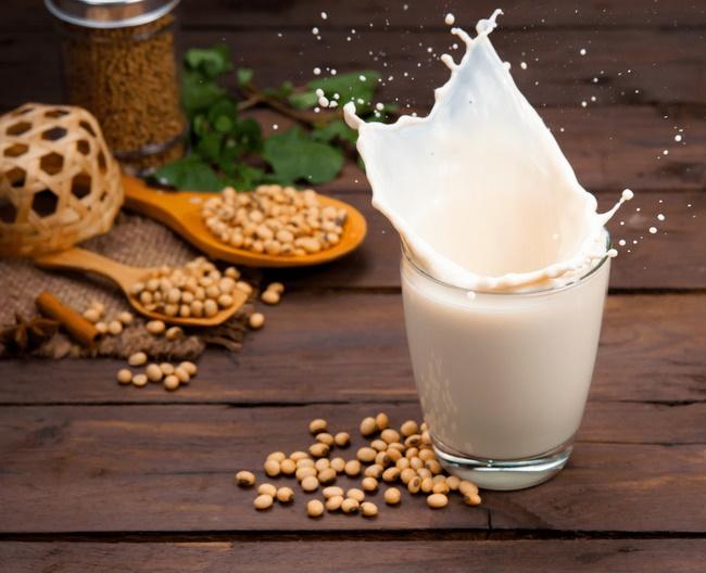 Sữa đậu nành giàu chất xơ, tạo cảm giác no lâu