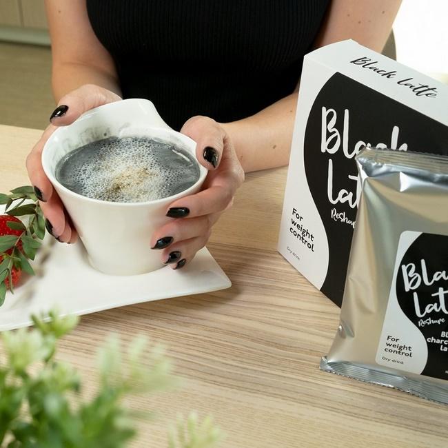 Sữa Black Latte được chiết xuất hoàn toàn từ thảo dược tự nhiên