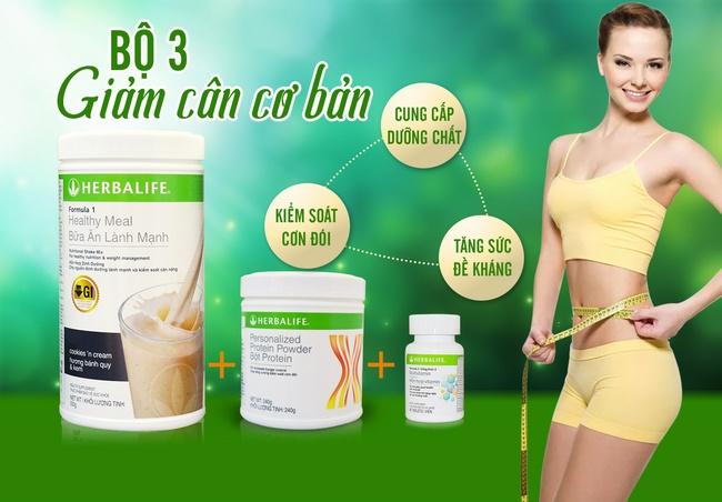 Sữa giảm cân Herbalife F1 được chiết xuất 100% đậu nành thiên nhiên