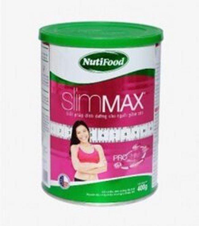Sữa giảm cân Nutifood Slimmax hạn chế hấp thụ dinh dưỡng thức ăn