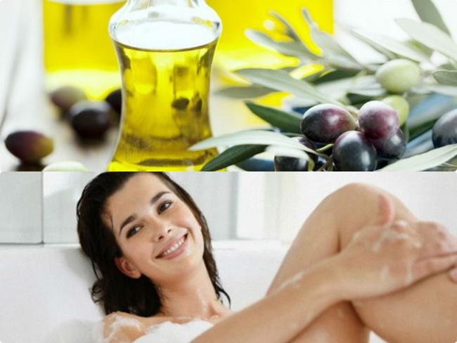 Tẩy da chết bằng dầu oliu vừa làm sạch da, vừa cấp ẩm cho làn da luôn mềm mịn