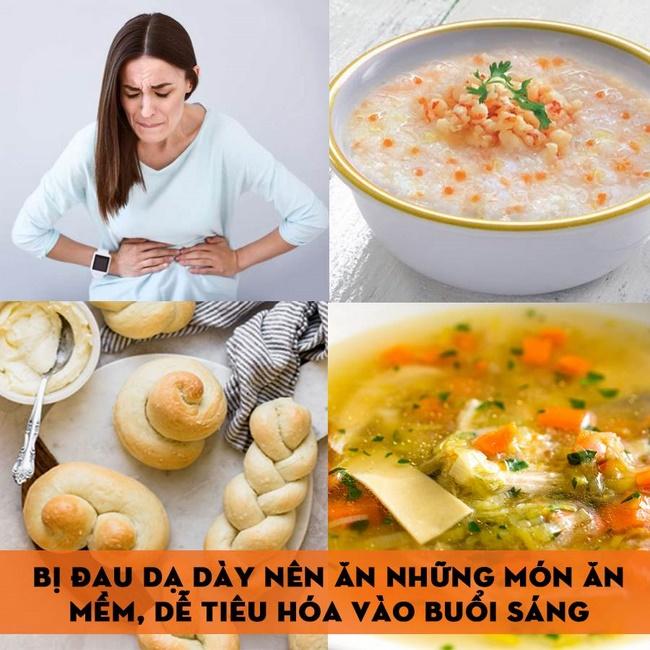 Thực đơn ăn kiêng cho người đau dạ dày