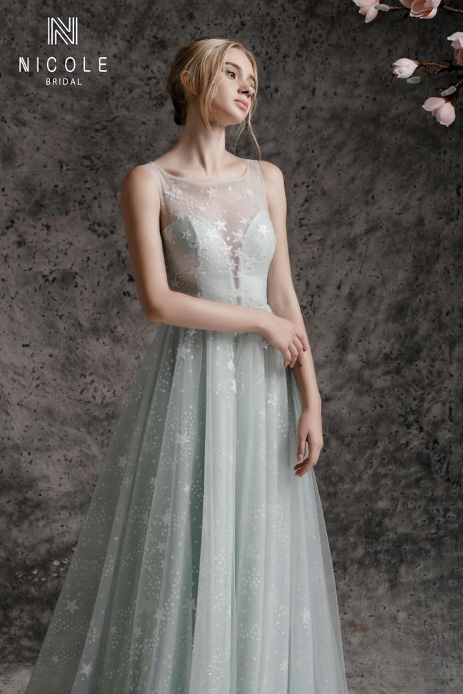 Áo cưới Nicole Bridallà tiệm áo cưới ở đường Hồ Văn Huê nổi tiếng bậc nhất