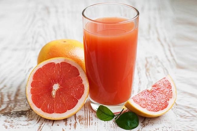 Uống nước ép bưởi mỗi ngày giảm mỡ bụng