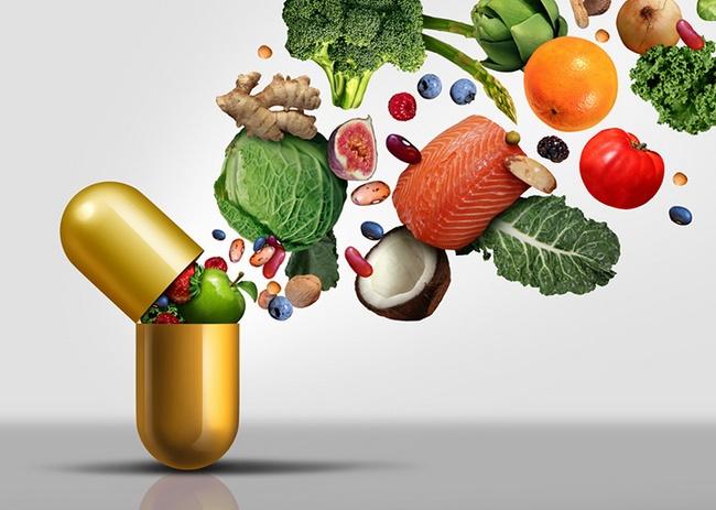 Uống thuốc thực phẩm chức năng giảm cân