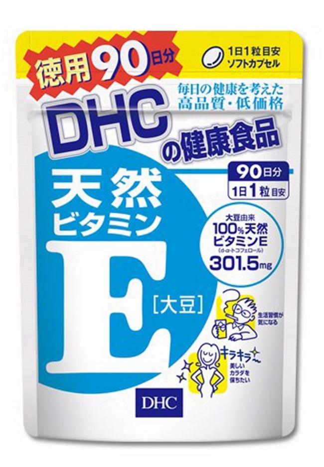 Viên uống DHC bổ sung vitamin E