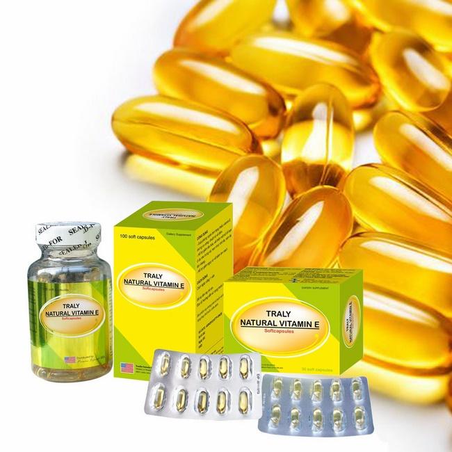 Viên uống TraLy Natural Vitamin E