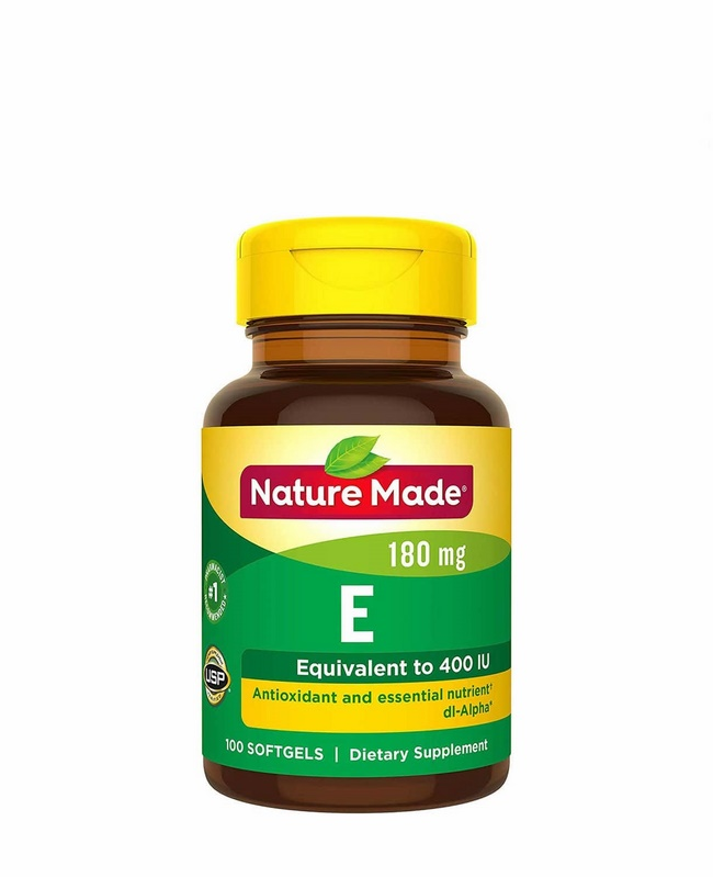 Viên uống Vitamin E 400 IU Nature Made