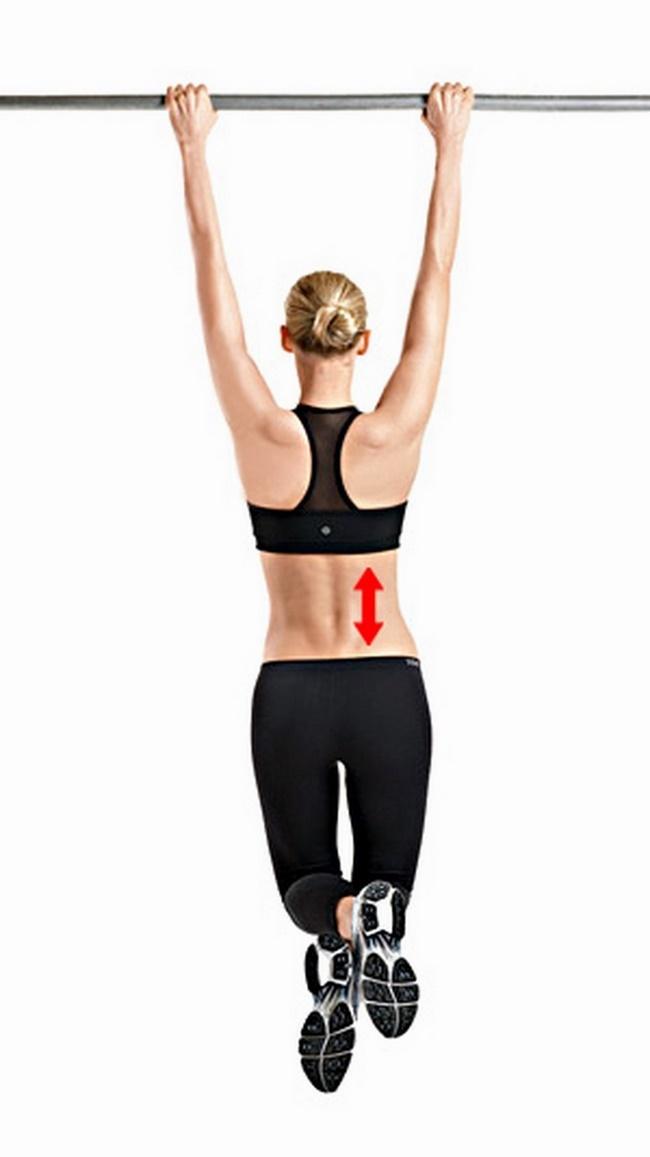 Bài tập đu xà vào mỗi sáng giúp giảm béo vòng eo hiệu quả