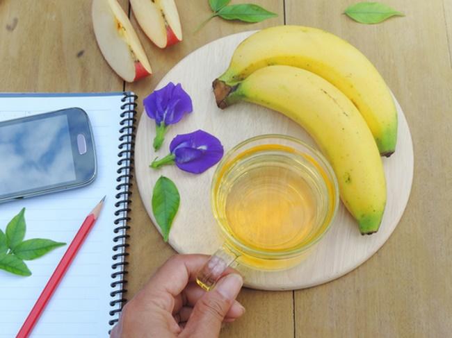 Chuối và trà xanh - chế độ ăn kiêng để giảm béo tuyệt vời