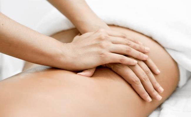 Massage là cách giảm mỡ bụng tại nhà trong 1 tuần hiệu quả