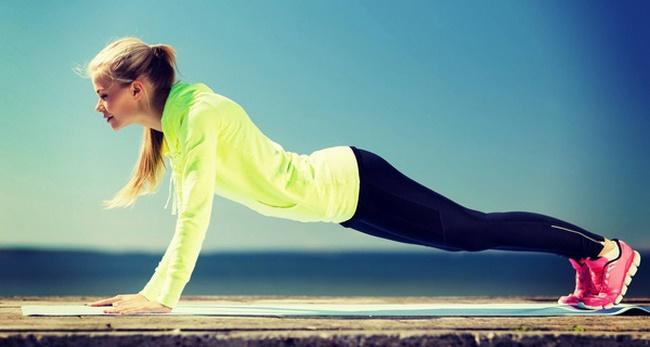 Tập thể dục mỗi ngày đốt cháy năng lượng cho thân hình thon gọn săn chắc