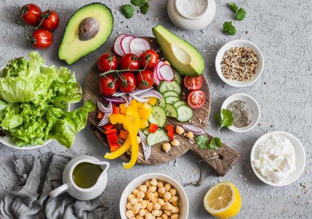 thực đơn ăn chay giảm mỡ bụng