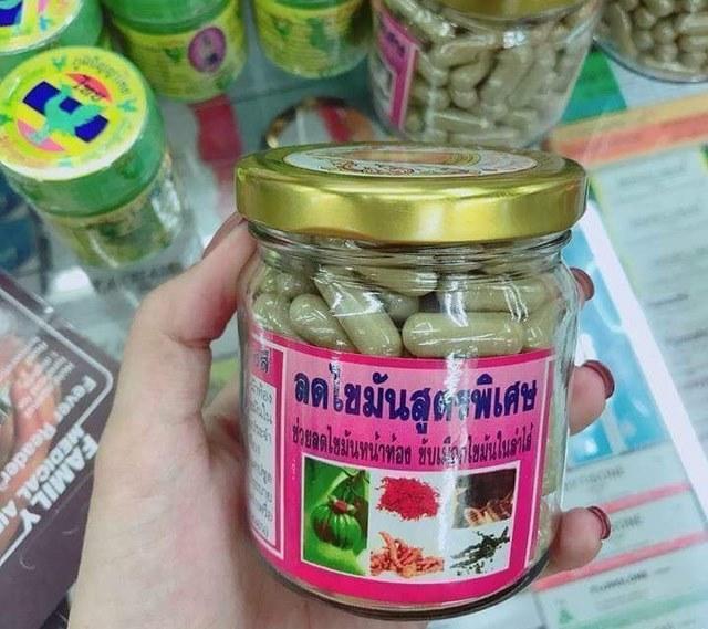 thuốc giảm mỡ bụng đông y Thái Lan