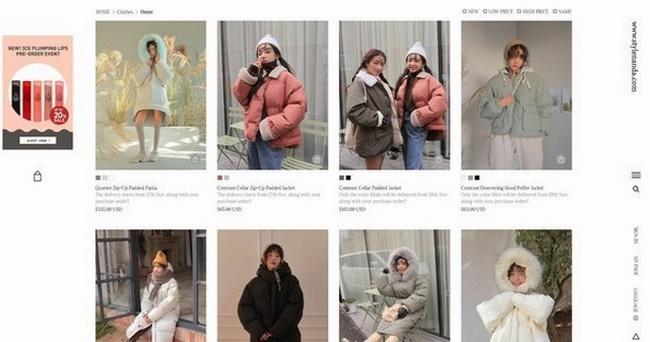 Stylenanda không chỉ nổi tiếng Hàn Quốc mà còn là một trong các trang web thời trang nổi tiếng thế giới