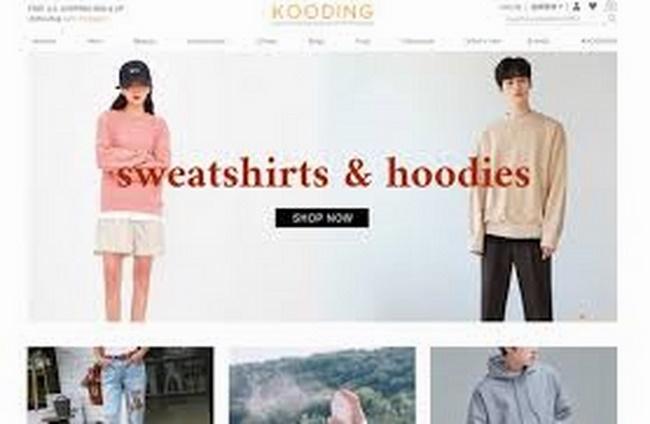 Web thời trang Kooding.com rất nổi tiếng trên toàn thế giới