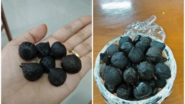 Ăn tỏi đen trước bữa cơm