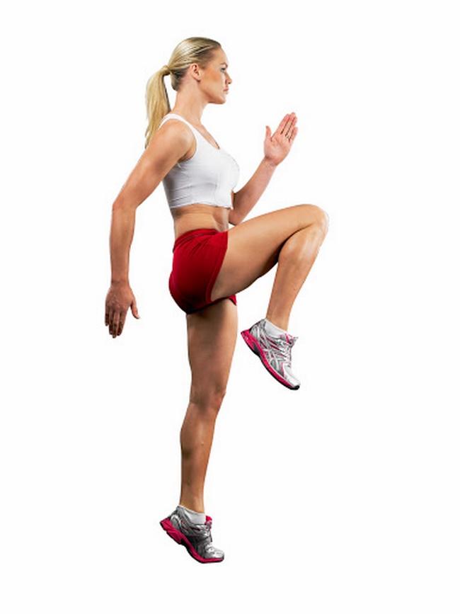 Bài tập Cardio chạy bộ nâng cao gối