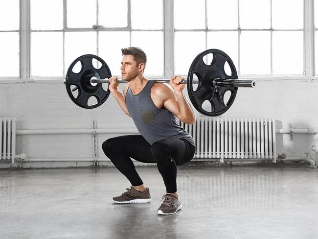 Giảm mỡ bụng tại nhà với Squat giúp máu lưu thông, tăng cường hệ miễn dịch giúp giảm cân hiệu quả