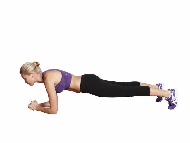 Bài tập Yoga tư thế Plank cơ bản
