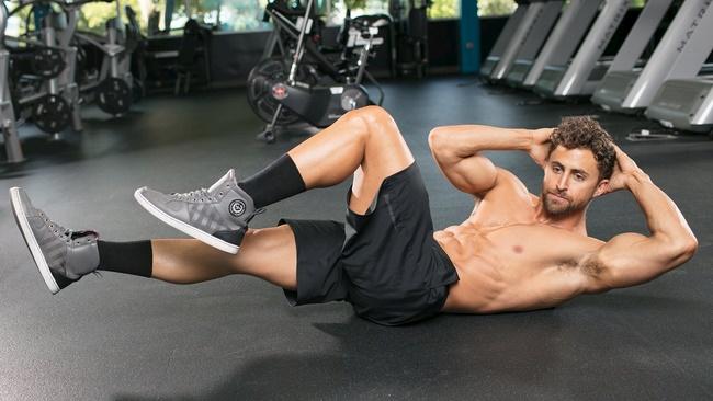 Bài tập giảm mỡ bụng tại nhà hiệu quả cho nam