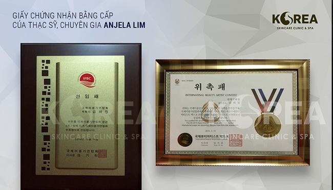 Viện thẩm mỹ Korea được cấp giấy phép hoạt động của Bộ y tế Hàn Quốc
