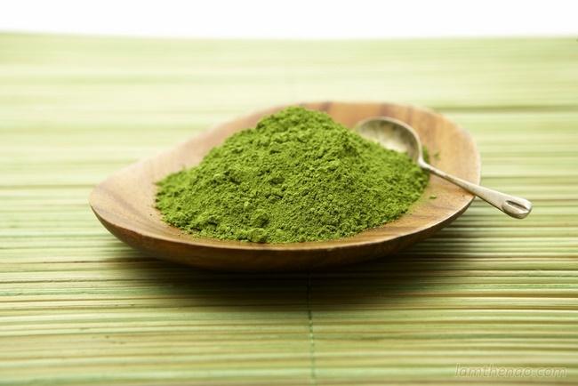 Bột trà xanh kết hợp với trái cây tăng cao khả năng giảm cân