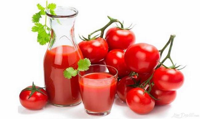 Cà chua chứa nhiều dinh dưỡng và chất xơ thúc đẩy quá trình giảm cân nhanh