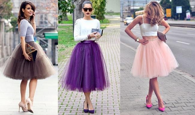 Cách mix đồ hoàn hảo với chân váy tulle mang đậm cá tính mỗi người