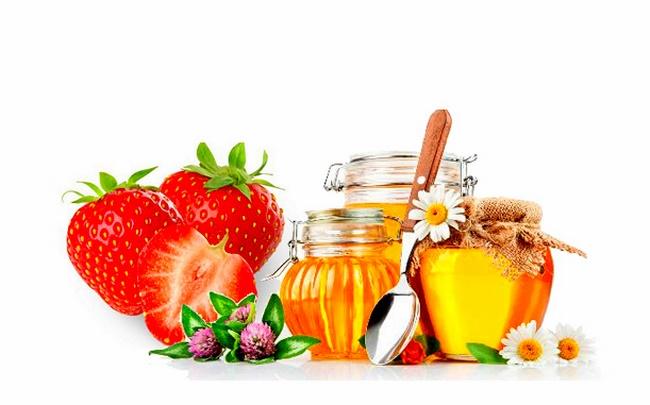 Công thức tẩy tế bào chết bằng dâu tây và mật ong