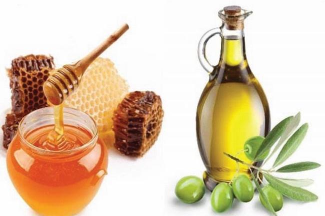 Công thức tẩy tế bào chết bằng mật ong và dầu oliu