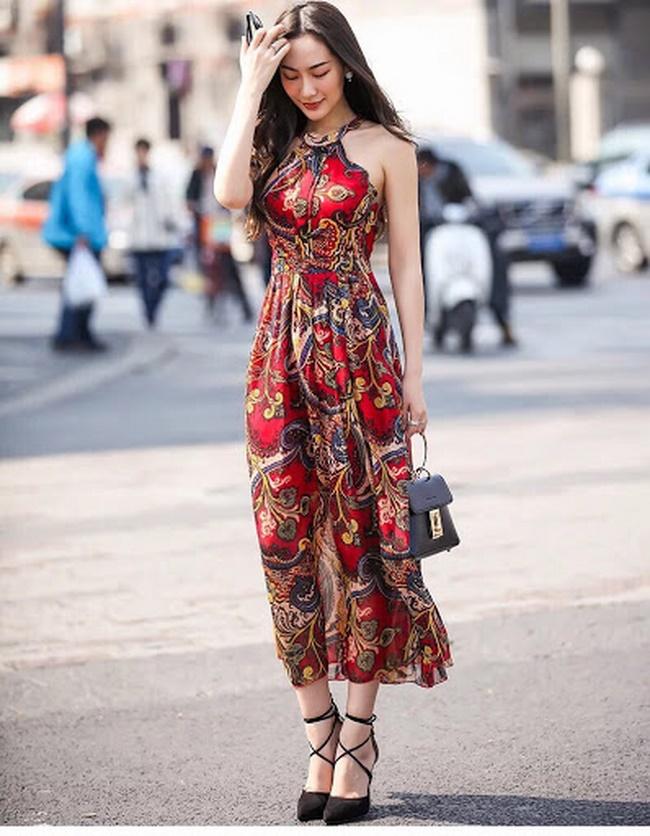 Đầm maxi thổ cẩm đang đón đầu xu hướng mùa hè năm 2020