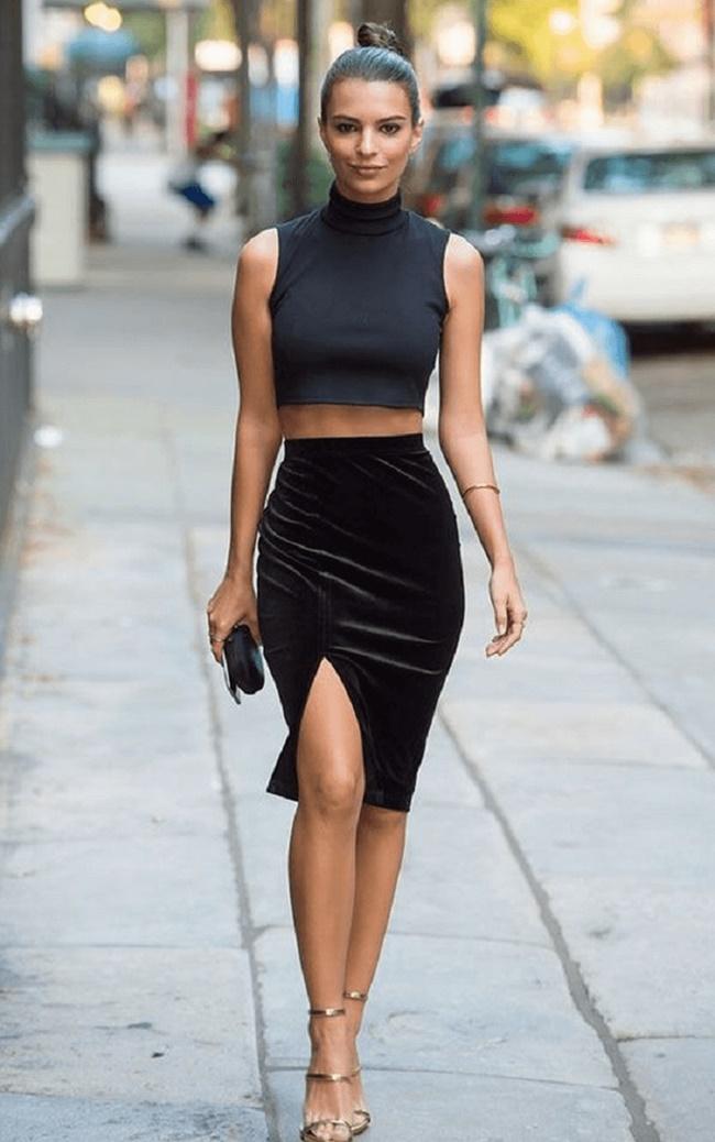 Chân váy tuổi trung niên có dáng người số 8