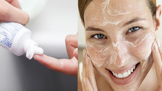 Làm trắng da bằng kem đánh răng và kết quả giật mình