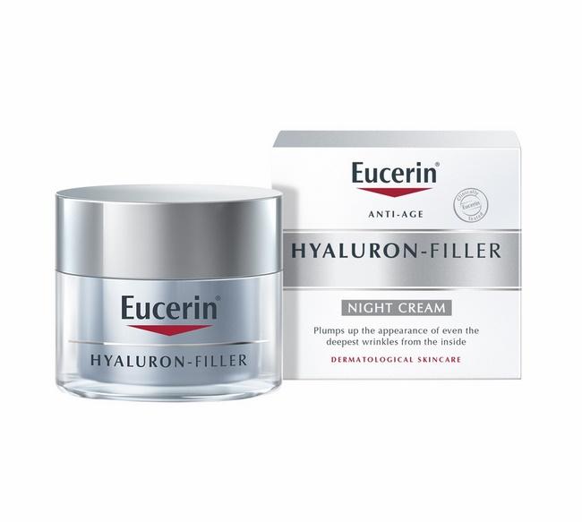 Kem chăm sóc da ban đêm Eucerin Hyaluron Filler