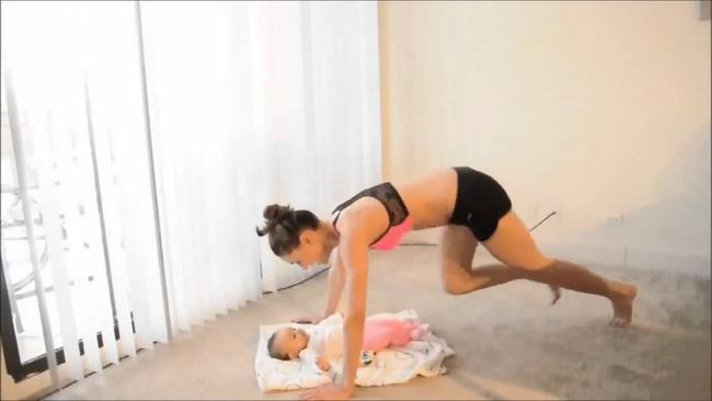 Lưu ý khi tập thể dục giảm cân sau sinh