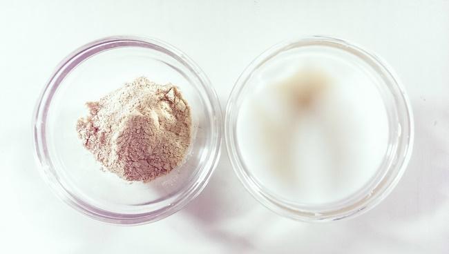Mặt nạ sữa chua với bột gạo tẩy tế bào chết cho làn da sáng hiệu quả