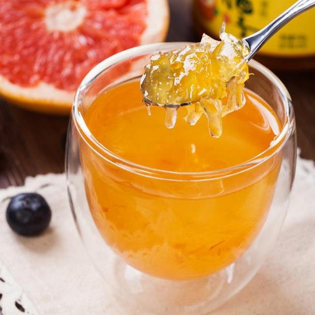 Mật ong pha bưởi nâng cao công dụng giảm cân