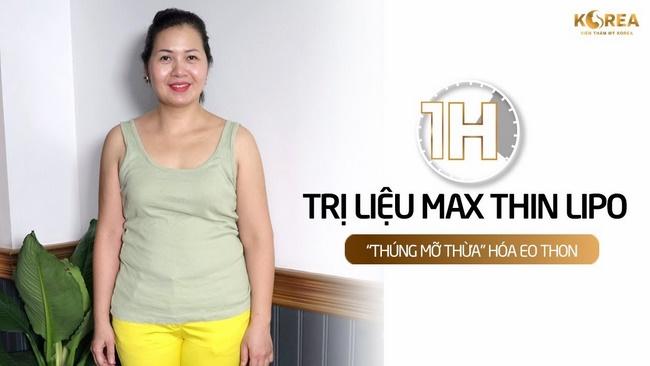 """""""Điêu đứng"""" với Công nghệ giảm cân có ưu điểm tuyệt vời Max Thin Lipo"""