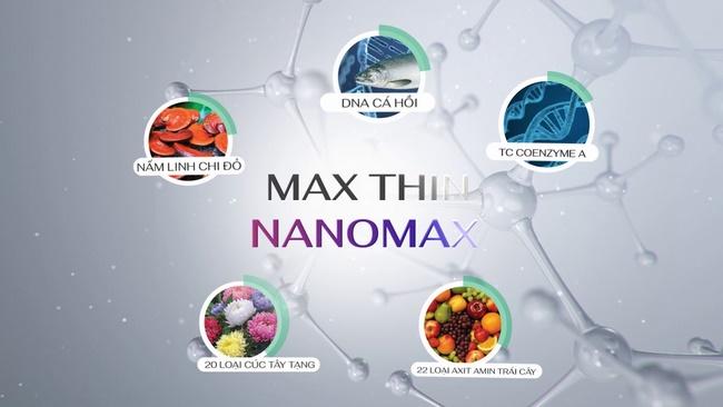 Max Thin Nanomax – Công nghệ đốt cháy mỡ thừa siêu tốc năm 2020